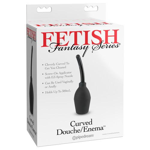 Bình Vệ Sinh Hậu Môn Âm Đạo Fetish Fantasy Series Curved Douche/Enema