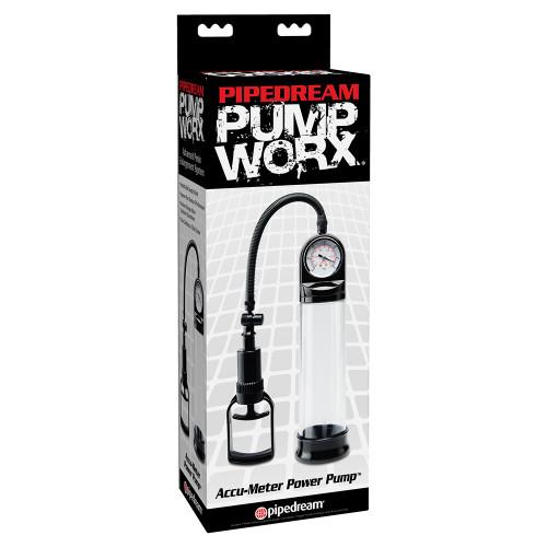 Máy Tập Dương Vật Pump Worx Accu-Meter Power Pump