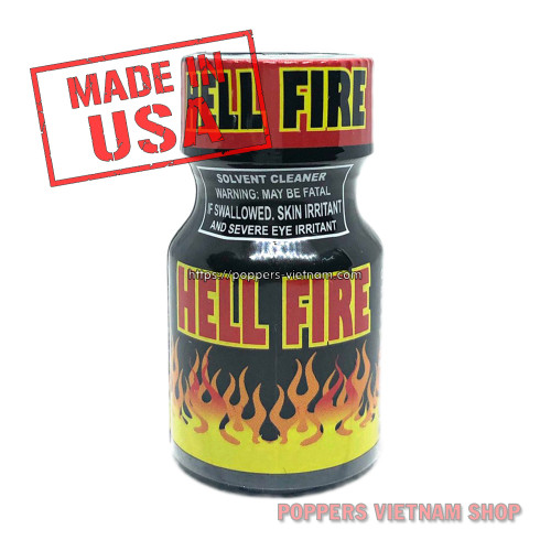 Hell Fire Poppers 10ml