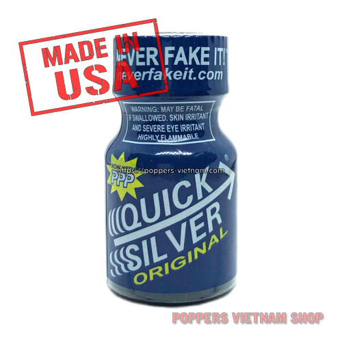 QuickSilver Poppers 10ml by PWD