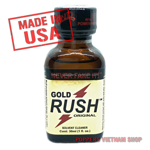 Rush Gold Poppers 30ml by PWD