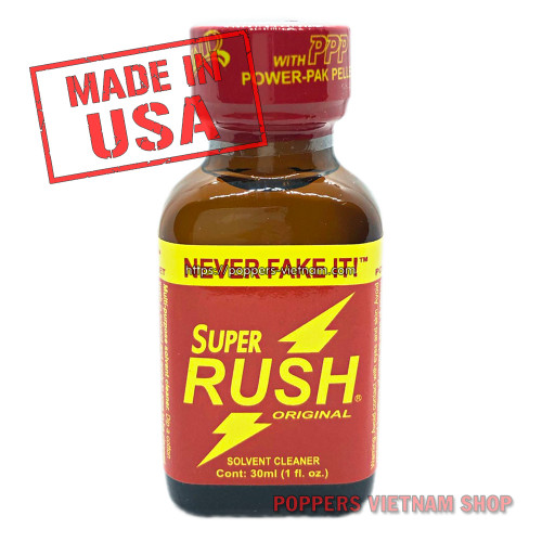 Super Rush Poppers 30ml by PWD